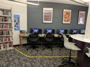 Computers in Desteenation at the Sachem Public Library